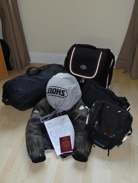 The luggage for 3 months on the road.
